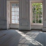Interior with morning sun
